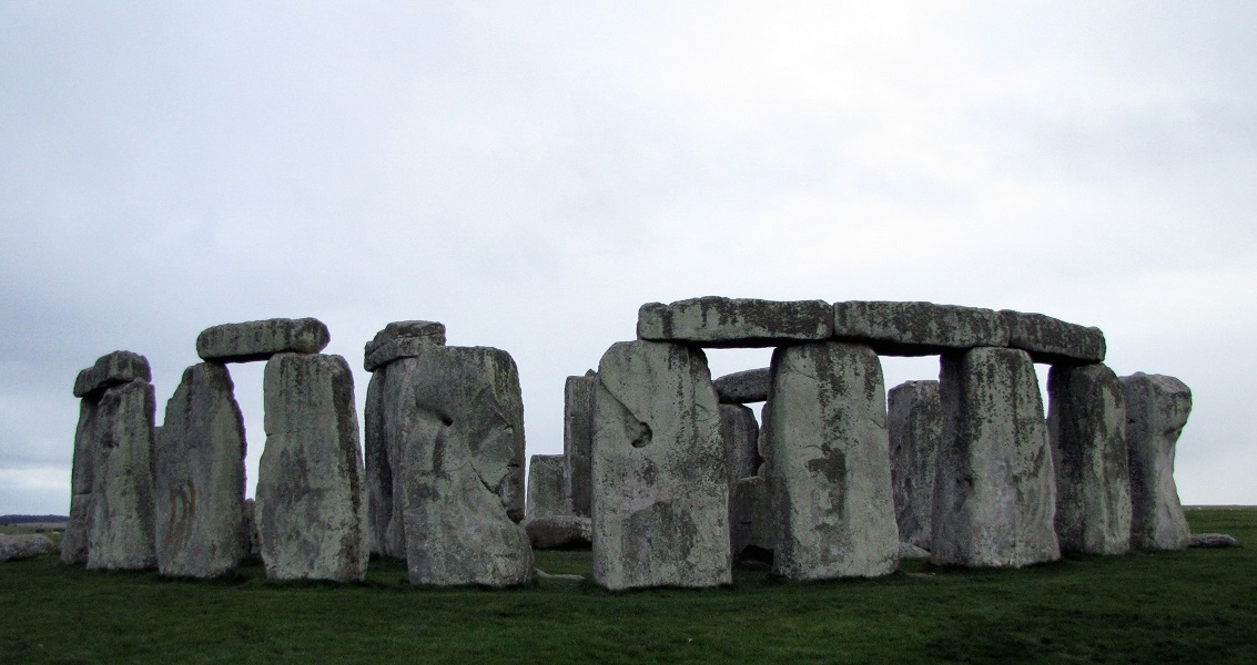 Stongehenge, Sundown, Salisbury Plain, England, United Kingdom