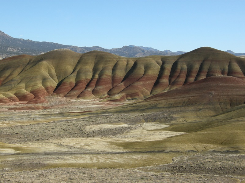 Painted Hills unit of the John Day Fossil Beds National Monument, Wheeler County, Oregon
